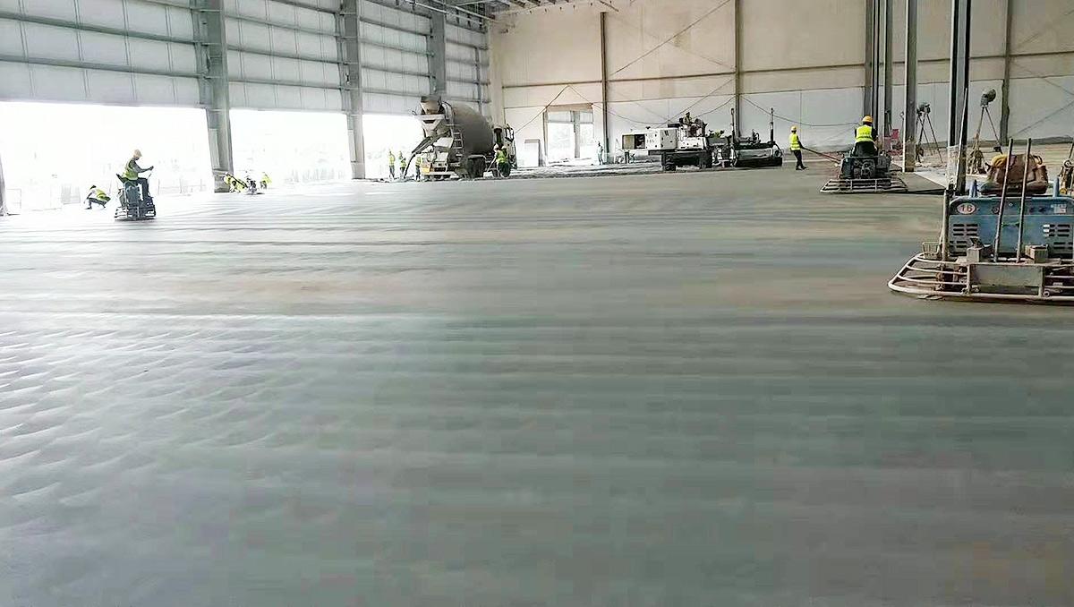 优耐地坪-丰富工程施工经验