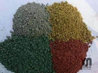 彩色金刚砂耐磨地坪材料