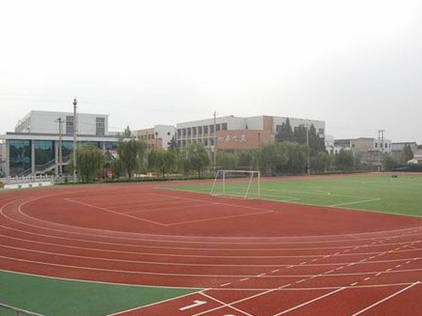学校操场跑道材料