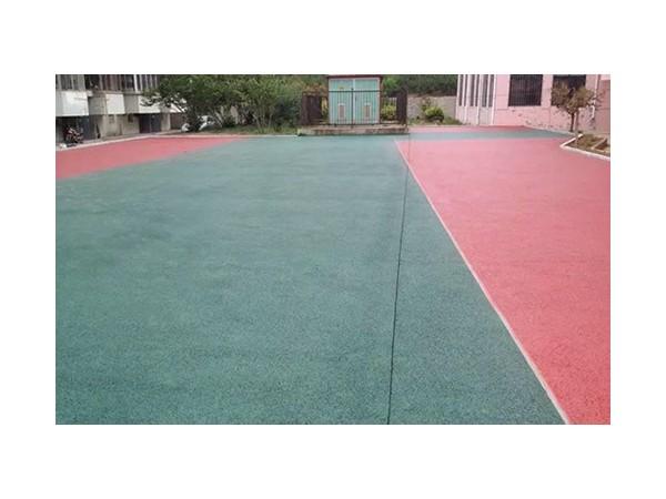 彩色透水地坪在现代建筑中具有广泛的功能