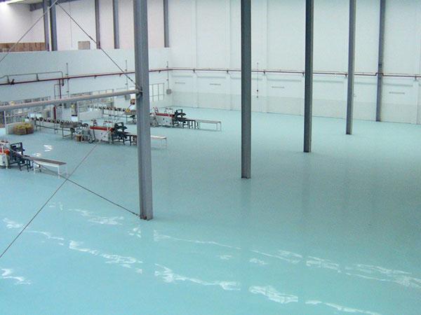 环氧树脂自流平型地坪材料