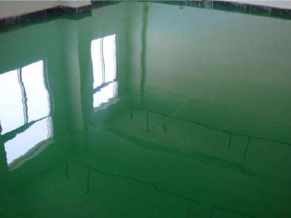 环氧地坪漆施工潜伏工程验收细致要点